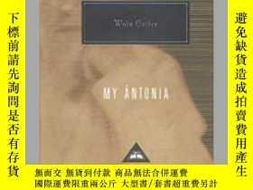 二手書博民逛書店My罕見Antonia 我的安東妮亞 Willa Cather 薇拉·凱瑟 everymans library 人