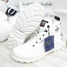 Palladium PAMPA X TECH防潑水 米其林大底 高筒靴 07040116 男款 白【iSport愛運動】