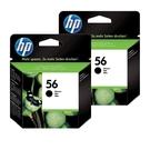 【二黑組合】HP C6656AA NO.56 原廠黑色墨水匣 適用OJ4225/OJ6110/OJ5510 /photosmart 7150/7550/7260等