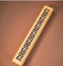 黑檀木臥香盒鏤空木質香插