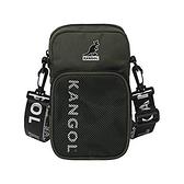 KANGOL 綠色隨身輕量側背包-NO.6125170270