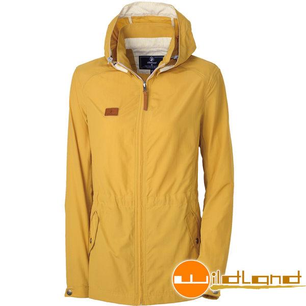 Wildland 荒野 0A31905-33駱黃色 女SUPPLEX抗UV外套