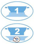 【奇買親子購物網】酷咕鴨KU.KU.-學習吸盤碗(藍色/粉色)