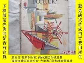 二手書博民逛書店罕見FORTUNE--OCTOBERY18210 出版1947