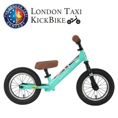 【愛吾兒】英國 London Taxi 專業充氣胎幼兒平衡滑步車-馬卡龍綠