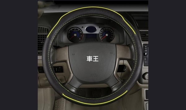 【車王汽車精品百貨】VW Tourareg Beetle CC Amarok 真皮精品 方向盤套 方向盤皮套