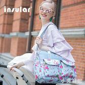 媽咪包多功能大容量母嬰包斜挎手提包外出時尚媽媽包母嬰包 qf13059【小美日記】