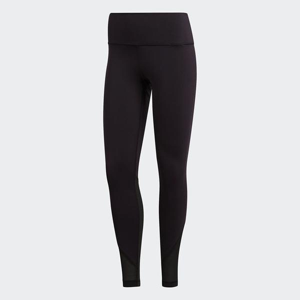 ADIDAS BELIEVE THIS ELEVATED 女裝 長褲 緊身 慢跑 訓練 健身 透氣 舒適 黑【運動世界】CZ7928