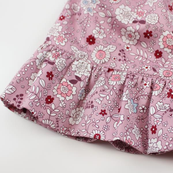 【愛的世界】小兔荷葉小圓裙/4~8歲-台灣製- ★秋冬下著