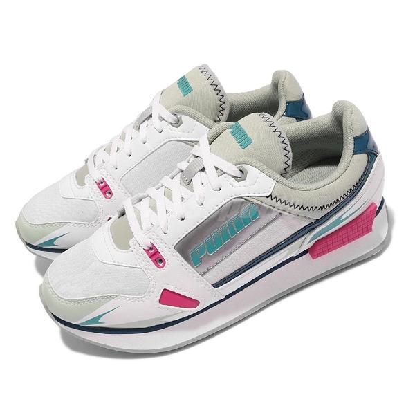 【海外限定】Puma 休閒鞋 Mile Rider Sunny Gataway Wns 白 桃 紅 藍 女鞋【ACS】 373443-07