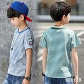 男童短袖T恤童裝夏裝兒童2019新款大童男孩韓版半袖洋氣體恤潮上衣 FR10001『俏美人大尺碼』