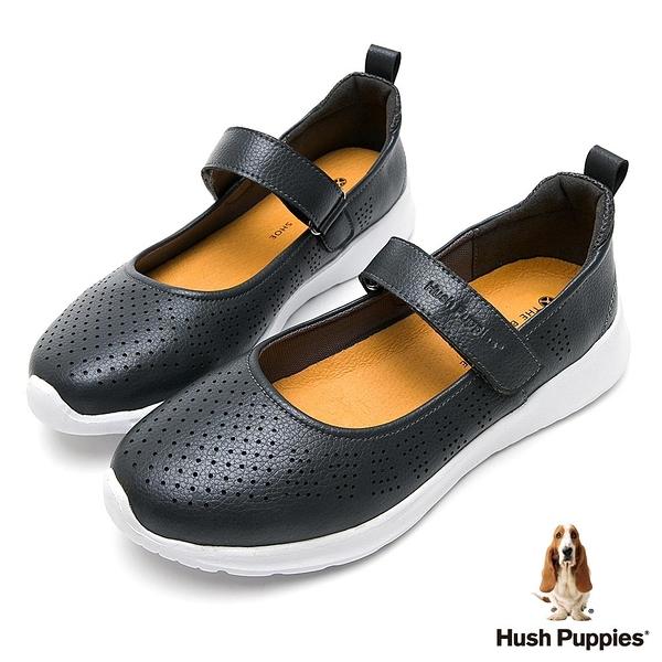 Hush Puppies MaryJane 輕量女休閒鞋 女鞋-淺灰