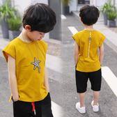 大童t恤兩件套童裝潮衣兒童韓版無袖夏裝