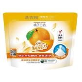 【箱購更划算】橘子工坊天然濃縮洗衣粉補充包 制菌配方 1350g*6包箱