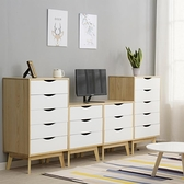 斗櫃實木北歐臥室斗櫥收納櫃抽屜式儲物櫃客廳簡約現代床頭櫃LX