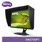 【免運費】BenQ 明基 SW2700PT 27型 QHD專業顯示器 / AHVA (IPS) 10bit 面板 / 27吋 / 廣色域
