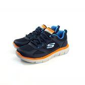 大童款 SKECHERS 97454LCCRD 輕量透氣 慢跑鞋《7+1童鞋》B901 藍色