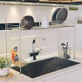 廚房收納 碗盤架 瀝水架【D0085】不鏽鋼跨海大橋伸縮瀝水槽架 MIT台灣製ac 完美主義