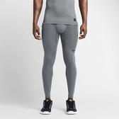 NIKE PRO COMBAT CORE [449822-021] 男款 運動 訓練 機能 彈性 緊身褲 舒適 排汗 灰
