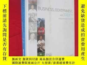 二手書博民逛書店BUSINESS,罕見GOVERNMENT, AND SOCIETY: A Managerial Perspect