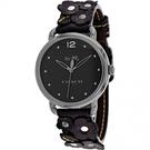 COACH【美國代購】女錶 經典雕花錶帶...