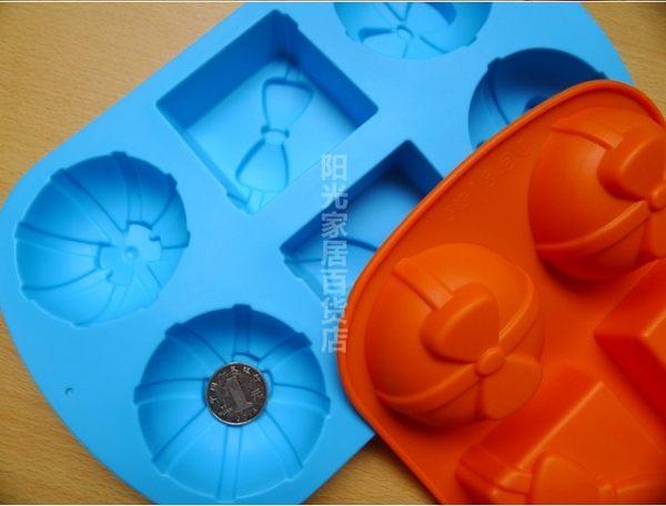 [協貿國際]  蝴蝶結禮物盒子矽膠蛋糕模具