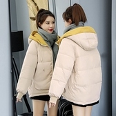 羽絨服女 短款羽絨棉服女冬季厚外套新款輕薄派克服小個子面包服加厚【快速出貨】