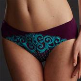 華歌爾-典雅提托系列M-LL-中腰三角褲(古典紫)QS4314MP(未購滿1000恕無法出貨)