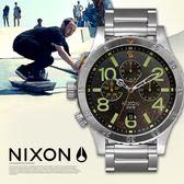 【人文行旅】NIXON | A486-1956 THE 48-20 CHRONO 仿舊潛水錶