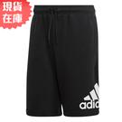 【現貨】ADIDAS MH BOSShortFT 男裝 短褲 慢跑 休閒 棉質 口袋 黑【運動世界】DX7662