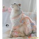 貓咪衣服狗衣服古代裙風唯美漢服春夏寵物裙子中國風薄紗古裝【小獅子】