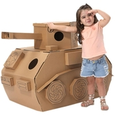 遊戲屋 哆哆家幼兒園娃娃家區角帳篷裝飾DIY涂鴉紙板兒童玩具游戲屋寶寶 星河光年DF