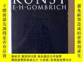 二手書博民逛書店DIE罕見GESCHICHTE.DER KUNSTY456083 Ernst H.Gombrich PHAI
