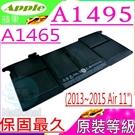 APPLE A1495 電池(原裝等級)-蘋果 APPLE A1465,MD223LL,MD845LL,MD771LL,MD771LL,MF067LL,MJVM2LL