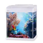 魚缸水族箱小型生態過濾玻璃熱帶魚缸家用金魚客廳桌面烏龜缸造景LP