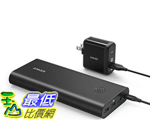 [106美國直購] Anker PowerCore+26800 Premium Portable External Battery with QC3.0 Wall Charger 便攜式充電器
