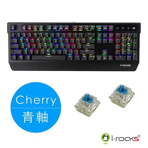 i-Rocks K60M PLUS RGB 多彩背光 德國Cherry軸體 機械鍵盤