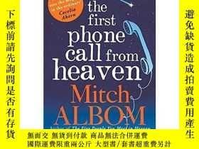 二手書博民逛書店來自天堂的第一通罕見The First Phone Call f