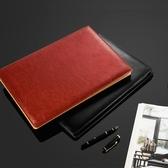 a4多功能文件夾墊板夾板寫字板皮質經理夾筆記本資料夾銷售量房本談單夾辦公 創意空間