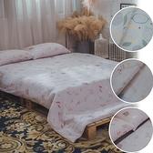 二層紗 S3單人床包雙人兩用被三件組 多款任選 台灣製造 柔軟親膚 棉床本舖
