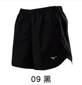 (A9) MIZUNO 美津濃 女 運動短褲 路跑褲 有口袋 拉鍊暗袋 J2TB875909黑 [陽光樂活]