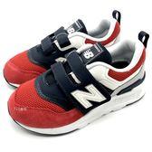 《7+1童鞋》中童 New Balance  PZ997HEA 透氣 網布 輕量  運動鞋 慢跑鞋  9439  紅色