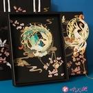 書籤 填彩工藝鏤空書簽金屬創意古典中國風精美學生用兒童可愛文藝青年 小天使 99免運
