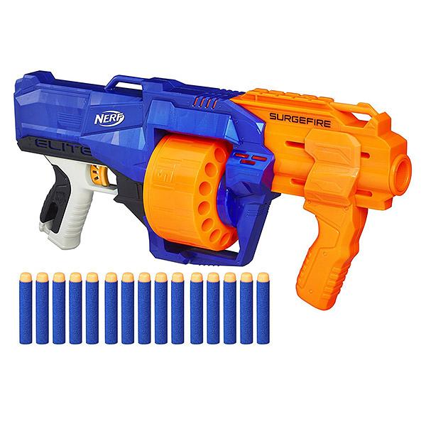 NERF兒童射擊玩具 孩之寶Hasbro 菁英系列 火浪衝鋒 E0014