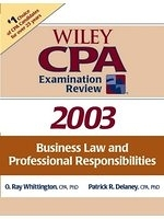 二手書 Wiley CPA Examination Review 2003: Business Law and Professional Responsibilities (Wiley CPA Ex R2Y 0471265039