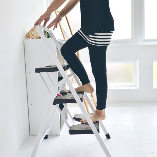 梯子 馬椅梯 A字梯【R0050】三層折疊家用梯/樓梯椅 MIT台灣製  收納專科