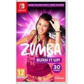 [哈GAME族]免運費●收錄超過30首歌曲及課程●Switch NS Zumba: Burn It Up! 中英文合版 11/19發售