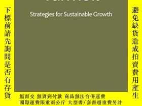 二手書博民逛書店Banking罕見In Turmoil: Strategies For Sustainable Growth-動蕩