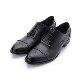 BABYLON 真皮雕花牛津紳仕皮鞋 黑 14028 男鞋 鞋全家福