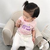 女童T恤 嬰幼兒寶寶男女童上衣兒童純棉短袖t恤體恤潮 俏女孩